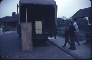 30 juli 1962 vertrek uit Kijkduin