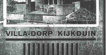 Villapark Kijkduin-wervingsfolder (1)