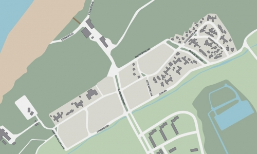Kijkduin-plattegrond-1951-1955