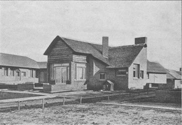 Cottage-rietgedekt afbeelding