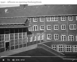 Haagsefilmbank-archieven-5049-afbouw en opening Zeehospitium-1940