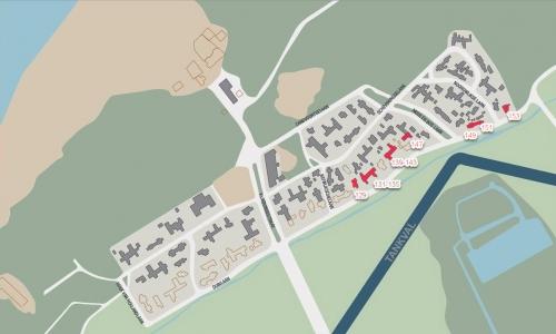 Kijkduin-plattegrond-1941-1945-Duinlaan