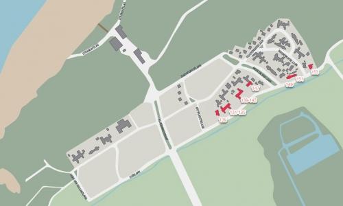 Kijkduin-plattegrond-1946-1955-Duinlaan