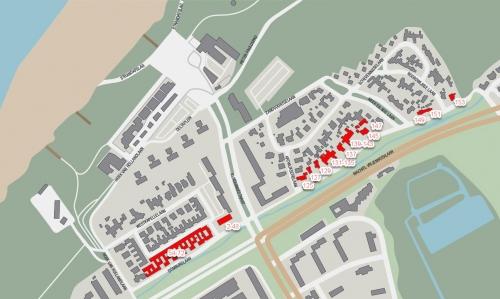 Kijkduin-plattegrond-1991-2019-Duinlaan
