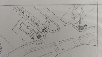 plattegrond bunker Meer en Boschlaan