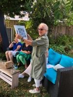Josephine Henkes-Esser - winnares Speurtocht Geschiedenis-Kijkduin Speurtocht 2020