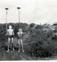 1954 achter in de tuin Kijkduin (5)
