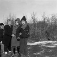 1954 schaatsen op Meer en Bos