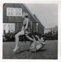 1966 met buurjongen Evert Kuijpers (1)