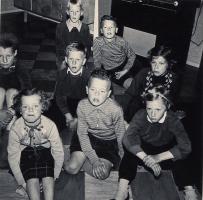 televisie kijken 1954 (2)