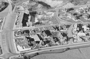 26-10-1931 - Kijkduin -Deelvergroting locatie plan 14 woningen