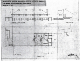 geveldetail - 14 woningen Kijkduin - Scheveningschelaan